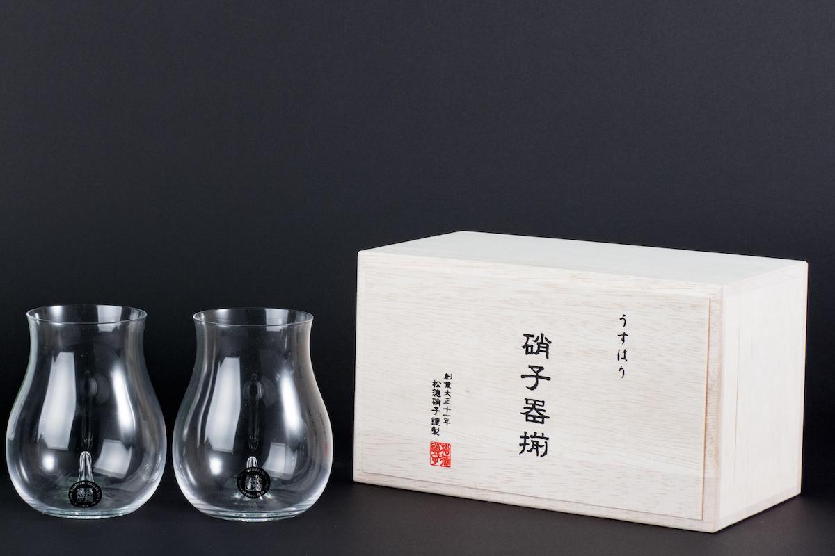 福岡,大吟醸,うすはり大吟醸グラス